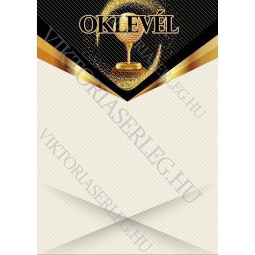 Oklevél VT Okl 09