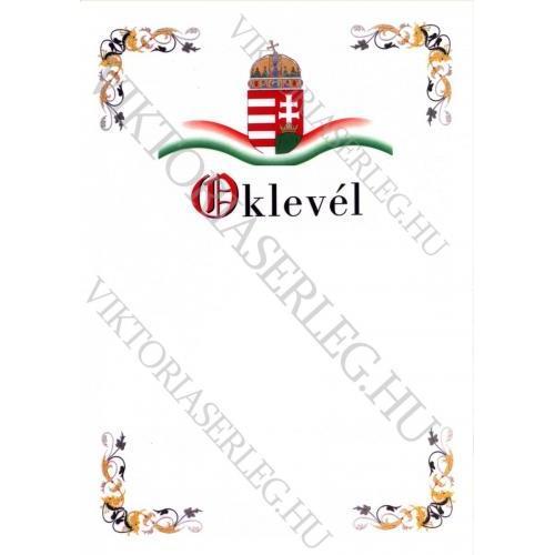 Oklevél VT Okl 14